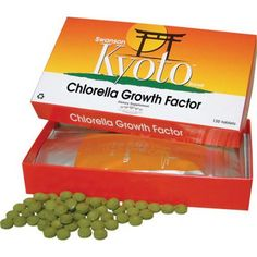 Swanson Kyoto Brand Chlorella Growth Factor 275mg 120 Tablets - Dietary Supplement