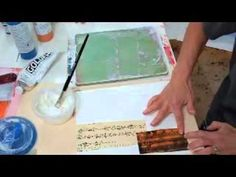 Arts And Crafts Movement Jane Davies, Art Rules, Gelli Plate Printing, Gelli Arts, Collage Techniques, Stamp Carving, Learn Art, Arts And Crafts Movement, Box Art