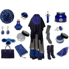 Midnight Witch by maggiehemlock on Polyvore featuring mode, Ivan Grundahl, EAST, Marni, Judith Jack, House of Harlow 1960, Free People, RabLabs, Clare V. and CO