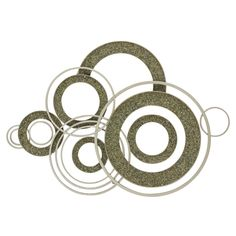 Sleek and modern, the DecMode Metal & Stone Geometric Wall Sculpture features overlapping rings finished in silver and gray. Crafted in metal and. Country Wall Decor, Modern Sculpture, Geometric Wall, Circle Design, Hanging Wall Art, Wall Sculptures, Cool Walls, Joss And Main, Metal Walls