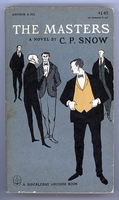 The Masters, a novel by C. P. Snow, cover illustrated by Edward Gorey. This edition 1951 (by Studio Reb)