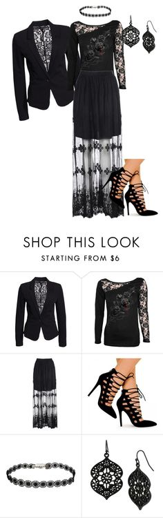 """""""Untitled #769"""" by pholtond on Polyvore featuring mbyM, Glamorous and Mixit"""