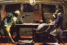 Schaeffer illustration for Black Buccaneer - Mead Schaeffer - Wikipedia, the free encyclopedia
