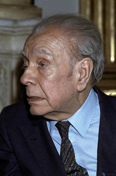 Borges todo el año: Jorge Luis Borges: Las letras - Foto: Borges, París, 12 de enero de 1983 ©Jacques Languevin / Associated Press