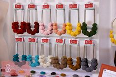 Craft Booth Display Ideas | purchased my necklace display from Artisan Wood Crafting on Etsy. He ...
