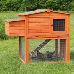Chicken Coop/House with Outdoor Run  by Trixie Pet Products