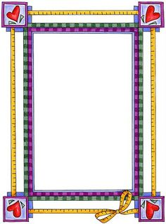 checkered Boarders And Frames, Page Borders, Quilt Border, Quilt Labels, Fabric Journals, Borders For Paper, Frame Clipart, Writing Paper, Flower Frame