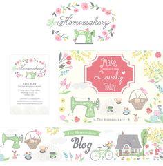 Custom Branding Package Custom Logo Business Card Blog by dgarden