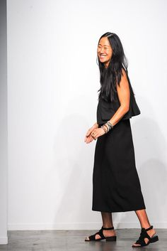 Creatures of Comfort Spring 2015 Ready-to-Wear <--she has a better outfit than any in her collection!
