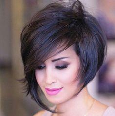 Short Hair With Layers, Short Hair Cuts For Women, Short Sassy Hair, Medium Hair Styles, Short Hair Styles, Cute Hairstyles For Short Hair, Short Pixie Haircuts, Short Haircut, Bob Haircuts