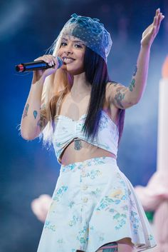 Melanie Martinez Photos Photos - Melanie Martinez performs live on stage during day two of Lollapalooza Brazil at Autodromo de Interlagos on March 26, 2017 in Sao Paulo, Brazil. - 2017 Lollapalooza Brazil - Day 2