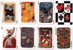 THE ART QUILT A FULL DECK OF PLAYING CARDS NEW | eBay