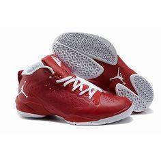 Jordan Fly Wade II Mens Basketball Shoes Red White