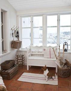Classic Style: Scandinavian christmas house