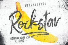 Rockstar and Photoshop brush set by Efe Gürsoy on @creativemarket