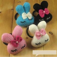 Sweet bunny hair bands