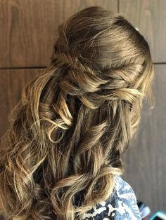Prom hair by Camille Wilbanks