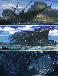 Feng Zhu's Concept Art.. Amazing