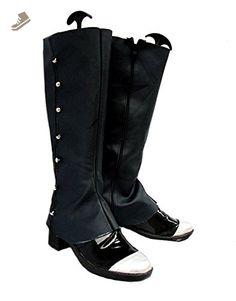 Black Butler Kuroshitsuji Ciel Strawberry Ver Cosplay Shoes Boots Custom Made