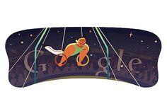 London 2012 Olympics Gymnastics Men's Rings Google Doodle 07.31.2012