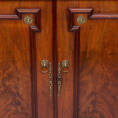 19th Century English Regency Two-Door Cabinet 2