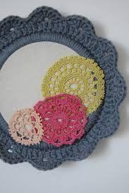 crochet flower frame kit - Google Search