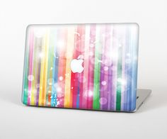 "The Unfocused Color Vector Bars Skin Set for the Apple MacBook Pro 15"" with Retina Display from Design Skinz"