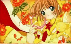 "CLAMP, Madhouse, Card Captor Sakura, Keroberos, Sakura Kinomoto Wallpaper ""??????~ Scarlet Bloom"" by Kunogi09midori"