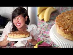 Bolo Molhado de Banana de cabeça pra baixo - YouTube