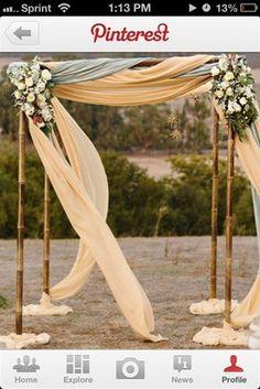 DIY archway | Weddings, Do It Yourself, Style and Decor | Wedding Forums | WeddingWire