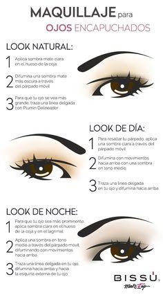 ¿Ojos encapuchados? Lúcelos diferente con estos tips.