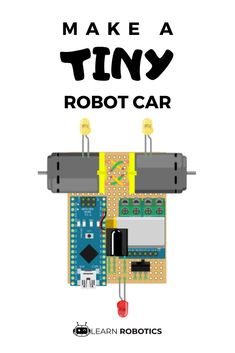 Build this palm-sized robot and amaze your friends! We'll show you how to build, wire, and program the tiniest robot ever... (or so we think!) Get the guide on our website!