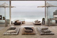 Glam outdoor living inspo   KELLY WEARSTLER   TERRA FIRMA OUTDOOR FABRICS