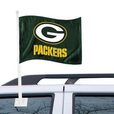 NFL Green Bay Pac... http://www.757sc.com/products/nfl-green-bay-packers-2-sided-auto-car-flags-banner-on-pole?utm_campaign=social_autopilot&utm_source=pin&utm_medium=pin #nfl #mlb #nba #nhl #ncaaa #757sc