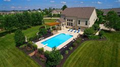 Entertainers dream. Saltwater pool, high-end kitchen with pergola and screened in porch are just some features of this stunning home. 🏊 [Listed by: Fenters Group - Coldwell Banker King Thompson - $599,900] . . . . . . #entertain #dream #pool #outdoors #summer #home #realestate #columbus #coldwellbankerkingthompson