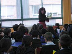 Visites Escolars. Cervantes. Biblioteca Infantil