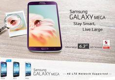 Samsung Launches Galaxy Mega 6.3 Color Purple