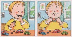 Daily Schedule Preschool, Preschool At Home, Preschool Math, Kindergarten, Inference Pictures, Sequencing Pictures, Story Sequencing, Montessori Activities, Learning Activities