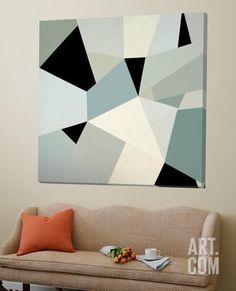 Loft art: adapt ii by randy hibberd : Diy Canvas Art, Diy Wall Art, Diy Art, Decoration, Art Decor, Home Decor, Tape Painting, Tape Art, Creation Deco