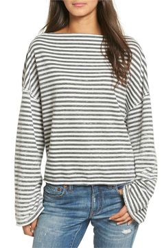 9be7fc63c29 Main Image - Treasure   Bond Slouchy Pullover Winter Fashion Casual