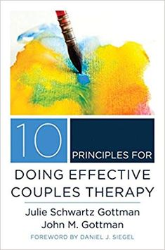In 10 Principles for Doing Effective Couples Therapy, two of the world's leading couple researchers and therapists give readers an inside tour of what goes on inside the consulting rooms of their practice. They have been doing couples work for decades and still find it challenging and full of learning experiences. This book distills the knowledge they've gained over their years of practice into ten principles at the core of good couples work.
