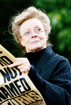 """Maggie Smith as Professor Minerva McGonagall - Harry Potter and the Order of the Phoenix (2007) """