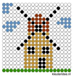 kralenplank molen, kleuteridee.nl , thema bakker Pearler Bead Patterns, Perler Patterns, Pearler Beads, How To Make Windmill, Minecraft Statues, Lego, Melting Beads, Pony Beads, Le Moulin