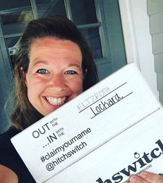 Look what she's got! #HitchSwitch #claimyourname 📸: @rebeccaeltzroth