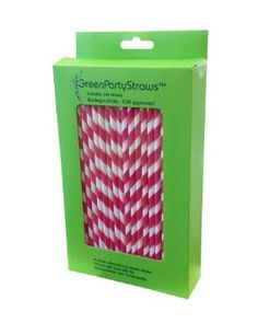 Paper Straws- I think I already have a box of pink and a box of blue straws but pinned this here for you to see