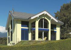 Réchy - Chalais, splendide villa 6.5 pièces 13107251 Villa, Outdoor Decor, Home Decor, Real Estate, Houses, Interior Design, Home Interior Design, Fork, Villas