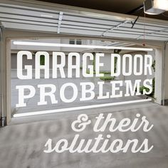 Tricks to Avoid Garage Door Problems:- To avoid any problems with Garage Door, it is very important to maintain it properly and regularly.