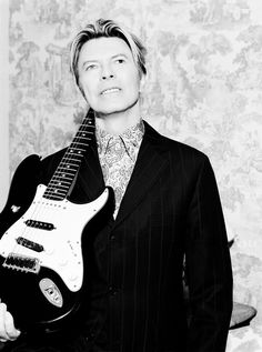 Just a girl from England who really loves David Bowie.