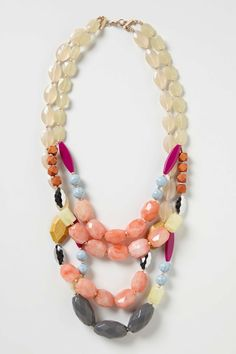 Figli Layer Necklace | Anthropologie.eu... lovely colours