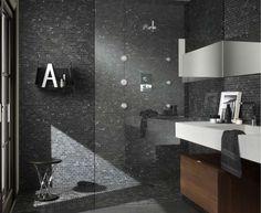 Foto di bagni a mosaico - Mosaico di lavagna